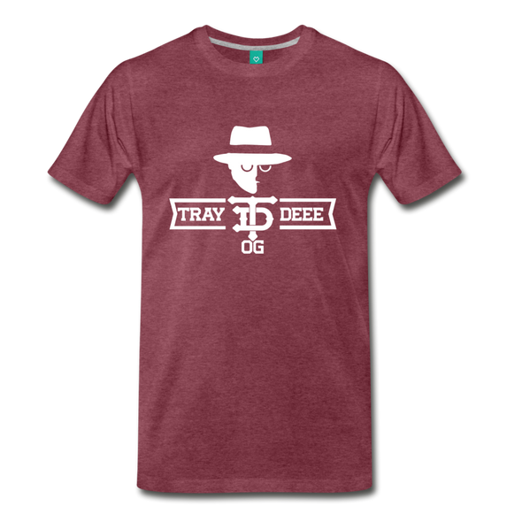 Tray Deee OG T-Shirt - heather burgundy