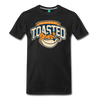 Nicely Toasted T-Shirt - black