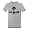 Tray Deee OG Black Logo T-Shirt - heather gray