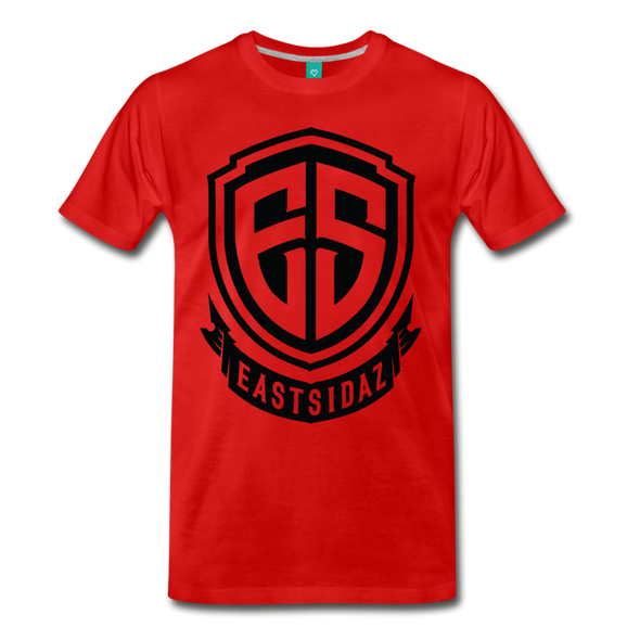 Eastsidaz Black Logo T-Shirt - red