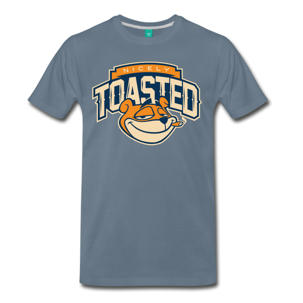 Nicely Toasted T-Shirt - steel blue