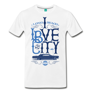 Luv My City - LBC T-Shirt - white