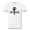 Tray Deee OG Black Logo T-Shirt - white
