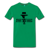 Tray Deee OG Black Logo T-Shirt - kelly green