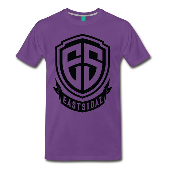 Eastsidaz Black Logo T-Shirt - purple