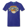 Nicely Toasted T-Shirt - royal blue
