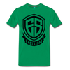 Eastsidaz Black Logo T-Shirt - kelly green
