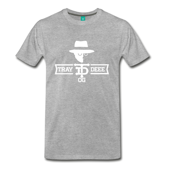 Tray Deee OG T-Shirt - heather gray