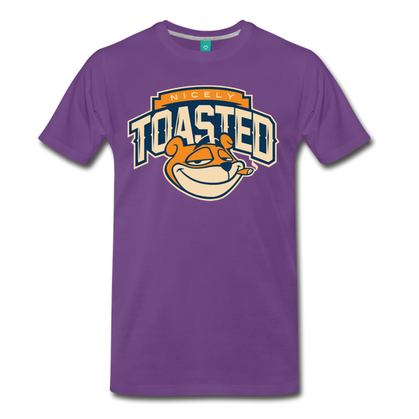 Nicely Toasted T-Shirt - purple