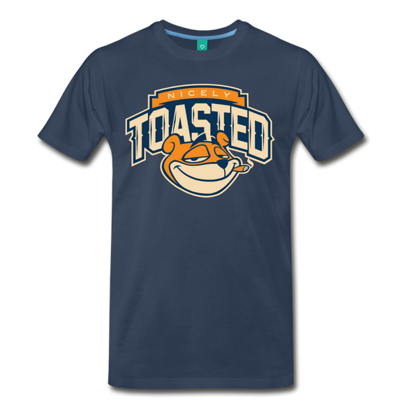 Nicely Toasted T-Shirt - navy