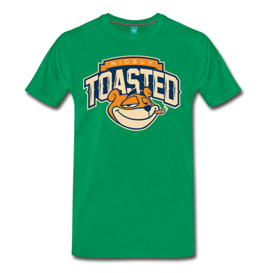 Nicely Toasted T-Shirt - kelly green