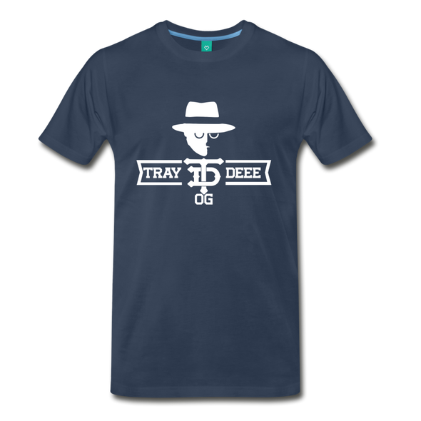 Tray Deee OG T-Shirt - navy
