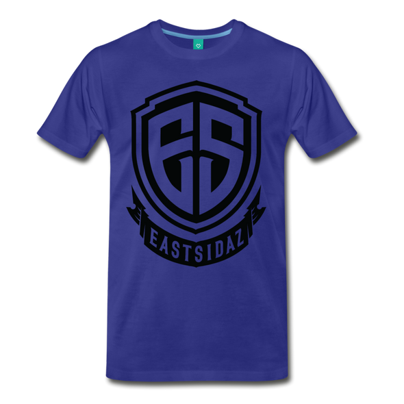 Eastsidaz Black Logo T-Shirt - royal blue