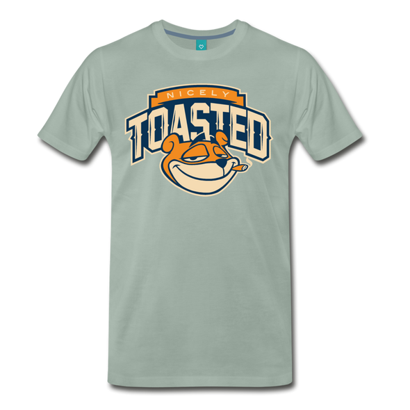 Nicely Toasted T-Shirt - steel green