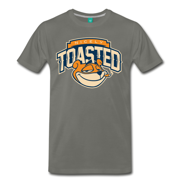Nicely Toasted T-Shirt - asphalt gray