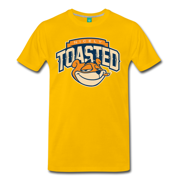 Nicely Toasted T-Shirt - sun yellow