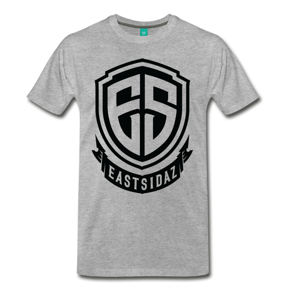 Eastsidaz Black Logo T-Shirt - heather gray