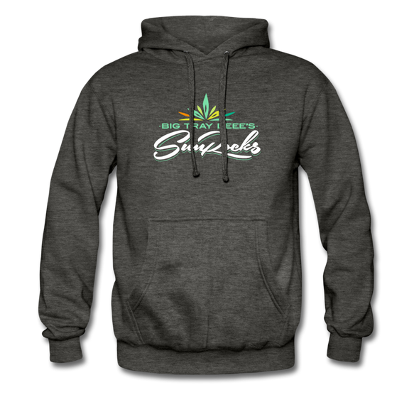 Sunrocks Color Logo - Hoodie - charcoal