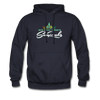 Sunrocks Color Logo - Hoodie - navy