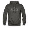 Sunrocks Gray Logo - Hoodie - charcoal