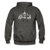 Sunrocks White Logo - Hoodie - charcoal