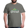 Sunrocks Color Logo Premium T-Shirt - asphalt gray