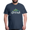 Sunrocks Color Logo Premium T-Shirt - navy