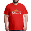 Sunrocks Color Logo Premium T-Shirt - red