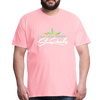 Sunrocks Color Logo Premium T-Shirt - pink