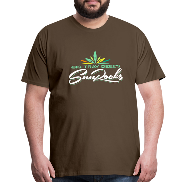 Sunrocks Color Logo Premium T-Shirt - noble brown
