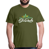 Sunrocks Color Logo Premium T-Shirt - olive green