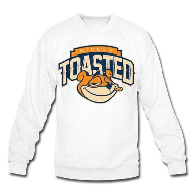 NIcely-Toasted Sweatshirt - white