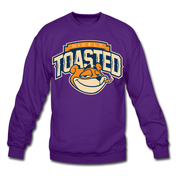 NIcely-Toasted Sweatshirt - purple