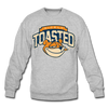 NIcely-Toasted Sweatshirt - heather gray