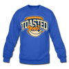 NIcely-Toasted Sweatshirt - royal blue
