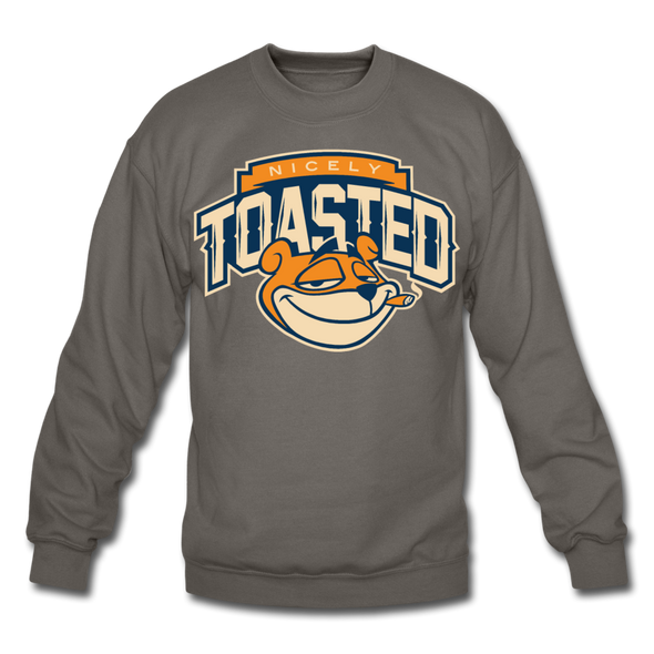 NIcely-Toasted Sweatshirt - asphalt gray