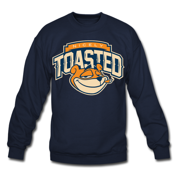 NIcely-Toasted Sweatshirt - navy