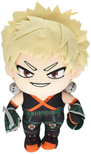 Great Eastern GE-52236 My Hero Academia Katsuki Bakugo Hero Suit Stuffed Plush