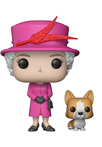 Funko POP!: Royal Family - Queen Elizabeth II Collectible Figure