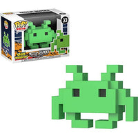 Funko Medium Invader: Space Invaders x POP! 8-bit Vinyl Figure + 1 Mega Man Trading Card Bundle [#033 / 32454]
