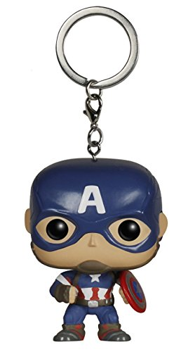 Funko Pocket POP Keychain: Marvel - Avengers 2 - Cap America Action Figure