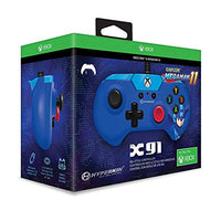 Hyperkin X91 Wired Controller for Xbox One/ Windows 10 PC (Mega Man 11 Limited Edition) - Officially Licensed By Capcom and Xbox