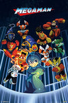 "Trends International Wall Poster Mega Man Group, 22.375"" x 34"""