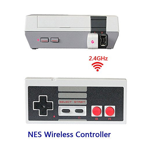 Wireless NES Mini Classic Controller,NES Wireless Gamepad For Nintendo Mini NES Classic Edition, Wireless Joypad & Gamepads Controller for Nintendo NES Mini Classic Edition Game System By HL Global