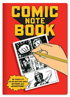 "Comic Book Notebook - Filled With Blank Panels for Creating Your Own Comics - 7"" x 4.75"""