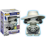 Funko Negatron [Glow-in-Dark] (2017 Summer Con Exclusive) POP! Disney x Darkwing Duck Vinyl Figure + 1 Free Classic Disney Trading Card Bundle (15105)