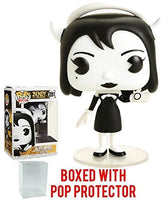 Funko Pop! Games: Bendy and the Ink Machine - Alice Angel Vinyl Figure (Bundled with Pop Box Protector Case)