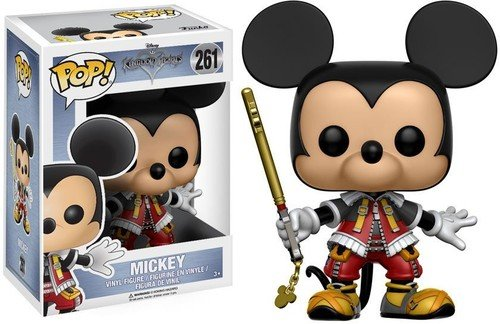 Funko POP Disney: Kingdom Hearts Mickey Toy Figures