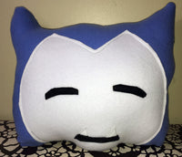 SNORLAX Plush Pillow Plushie | Pokemon Go Inspired