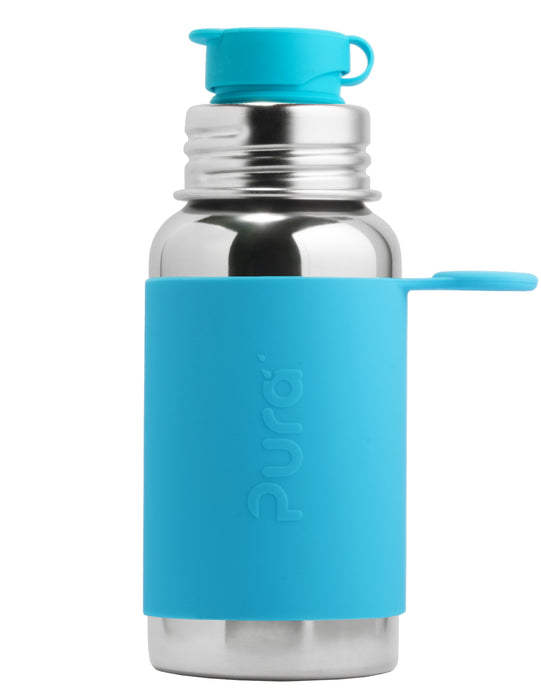 Pura Sport 550 Stainless Steel Bottle - Aqua